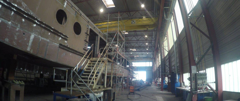 In der Werft