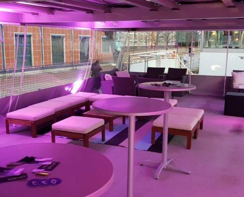 Winter-Pavillon, leicht, warm und trocken