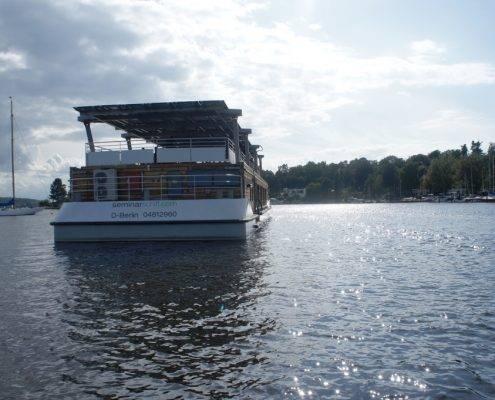 Das Seminarschiff auf der Havel