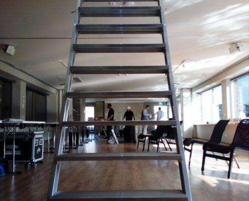 Hintere Treppe zum Oberdeck