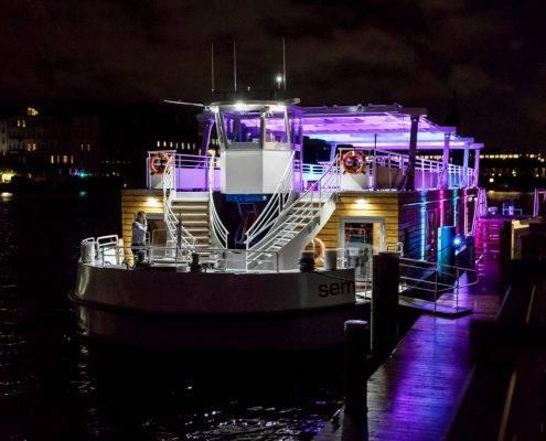 Seminarschiff - Taufe - Orca ten Broke