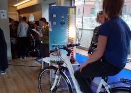 Radfahren für Strom