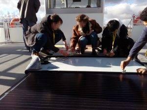 Solarplatte - das Innenleben
