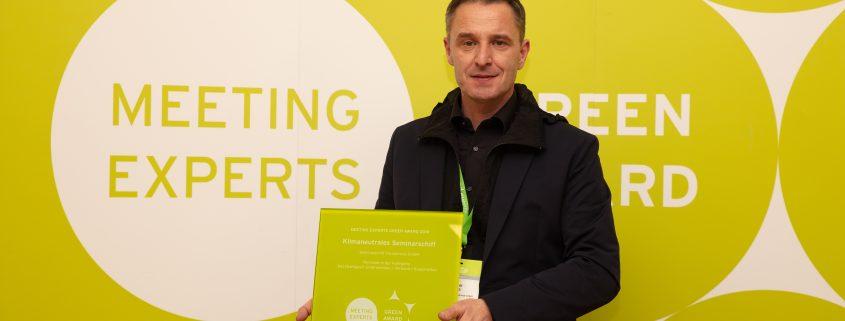 Seminarschiff ist Nominee des Meeting Experts Green Award 2019