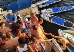 Pactum Collection Sommerfest auf dem Seminarschiff