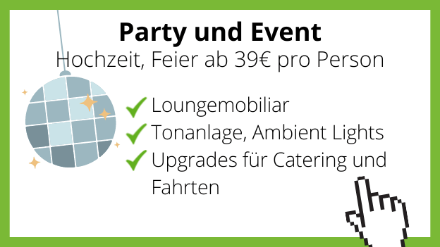 Party und Event Orca ten Broke